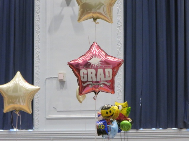 Our first 8th Grade class is graduating!
