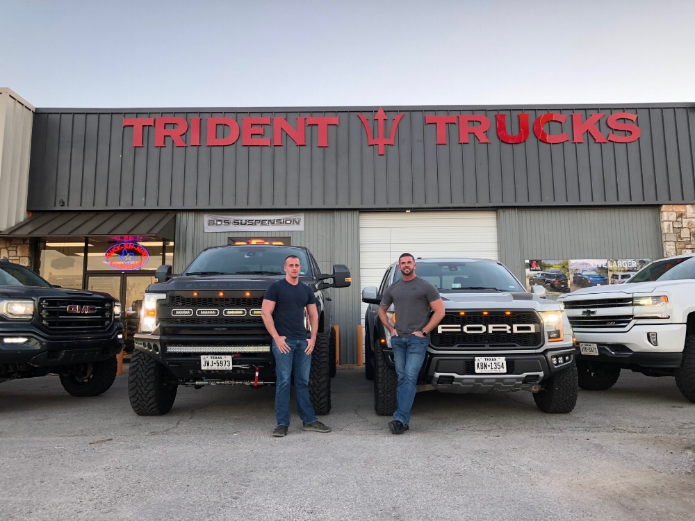 We're a veteran owned and operated company with a passion for what we do. everyone at trident trucks once had a hobby of building and customizing trucks and jeeps, now that's our job and we still love it!