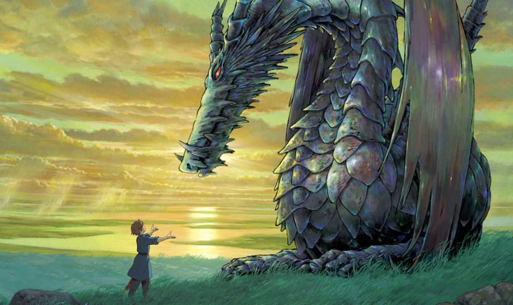 Still from Tales of EarthSea, PR handout, based on the Studio Ghibli interpretation**