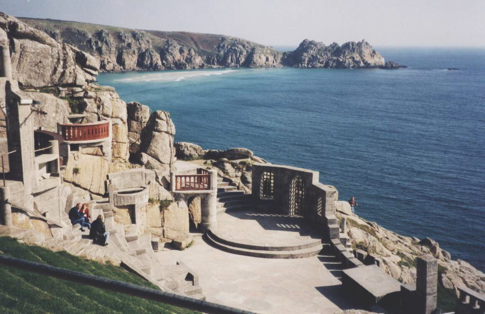 (CC) via Wikipedia, Minack Theatre, Cornwall