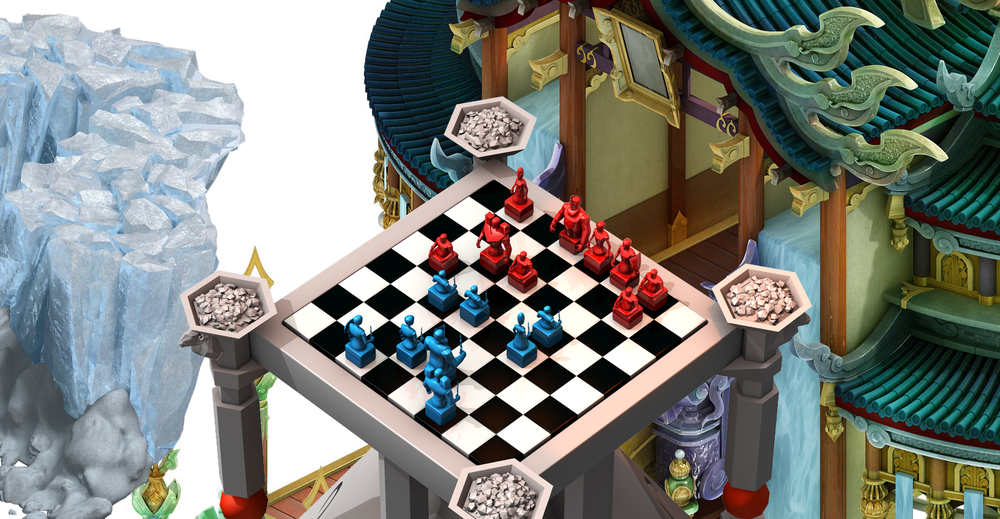 Heaven Nation. Evolve, Mergeand Collect units in this Chess-like Game Inspired by the Zodiac - As above - so below...