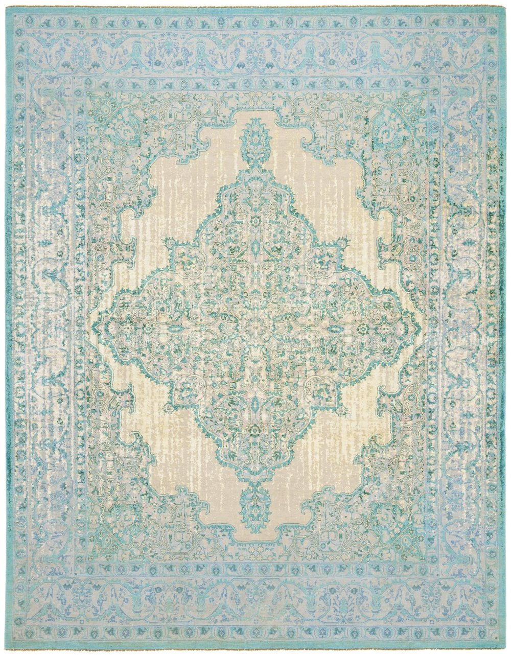 Tabriz Fashion Double Vendetta turquoise pink