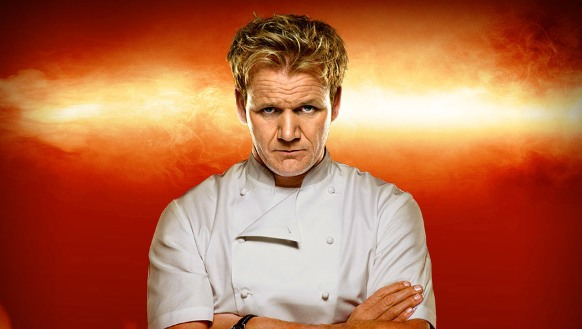 Gordon's not looking for a line-cook job