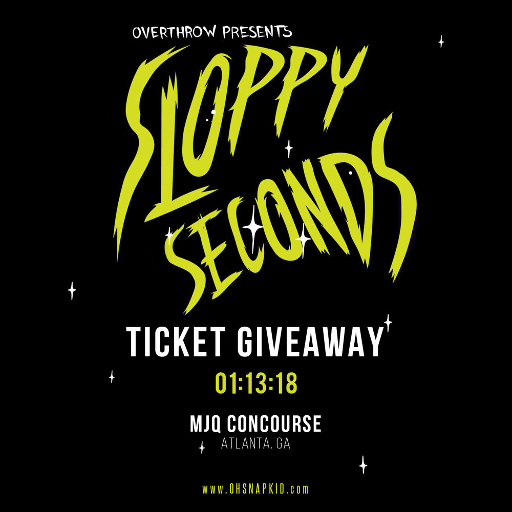 FOLLOW OHSNAPKID ON INSTAGRAM FOR A CHANCE TO WIN TICKETS