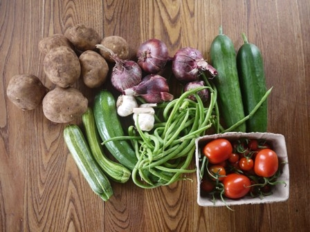 Small veg box - 7 veg items weekly