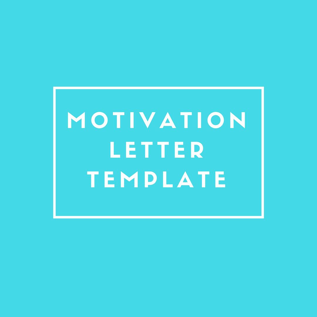 motivation letter template ministério do sabático