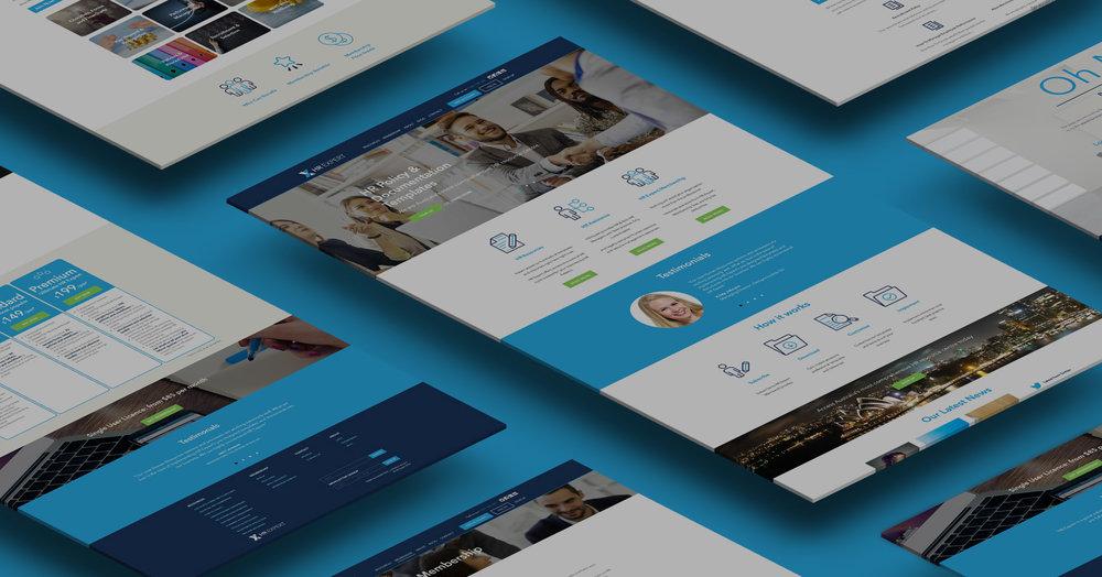 HR Expert - Website Design