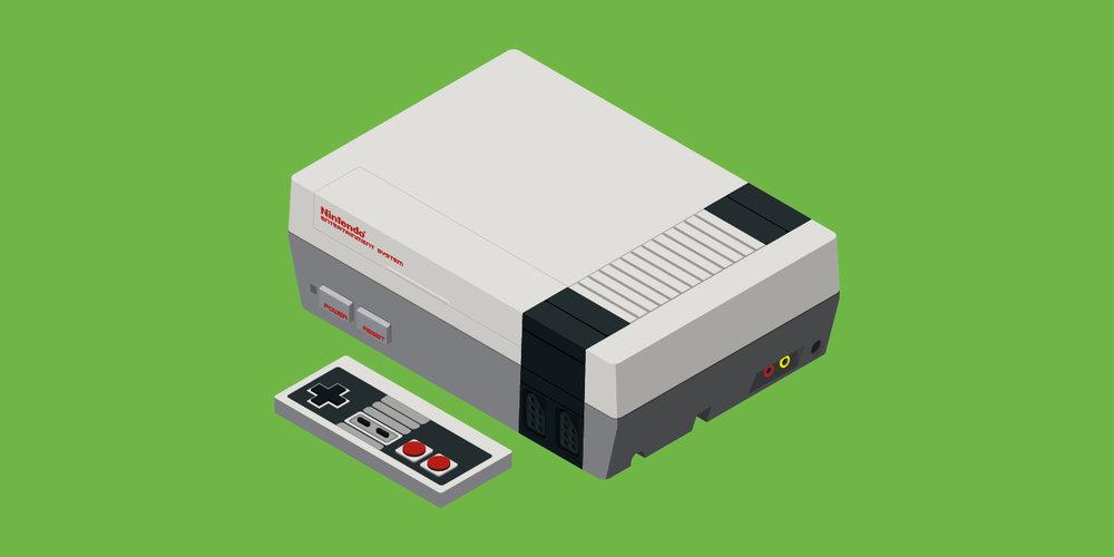 Nintendo Entertainment System (US 1985 – EU 1986 – AU 1987)