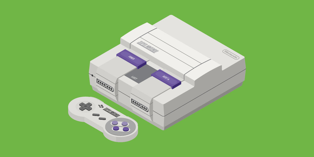 Super Nintendo Entertainment System (US 1991)
