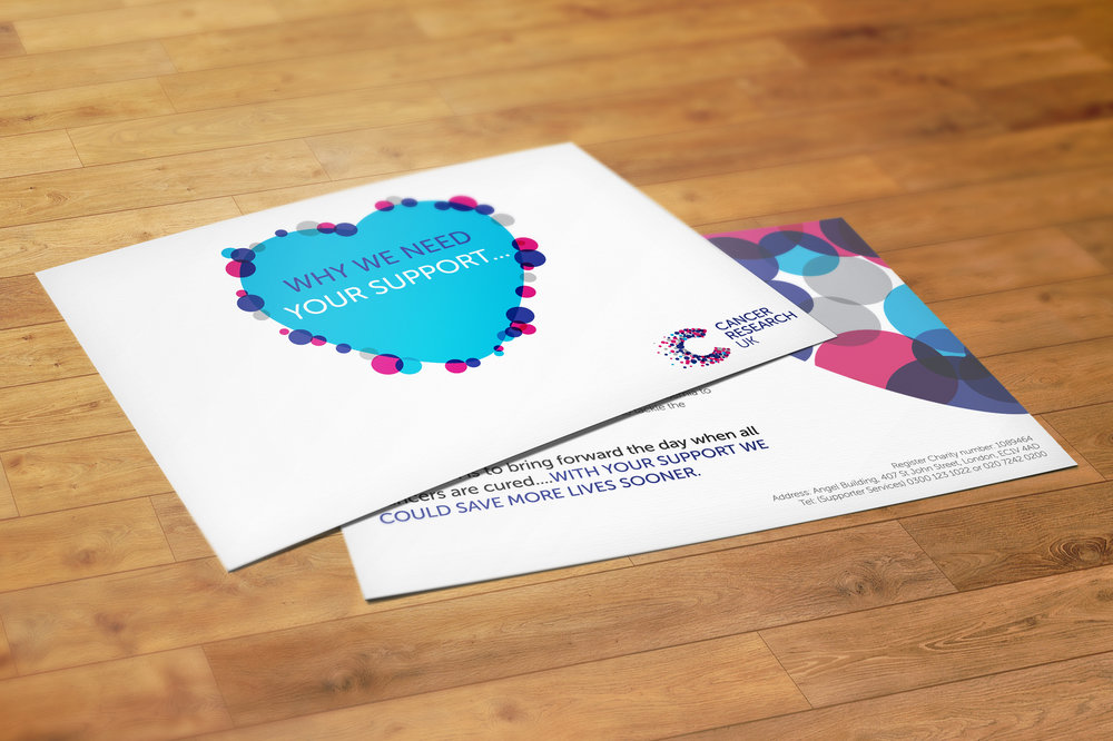 Cancer Research UK Postcards