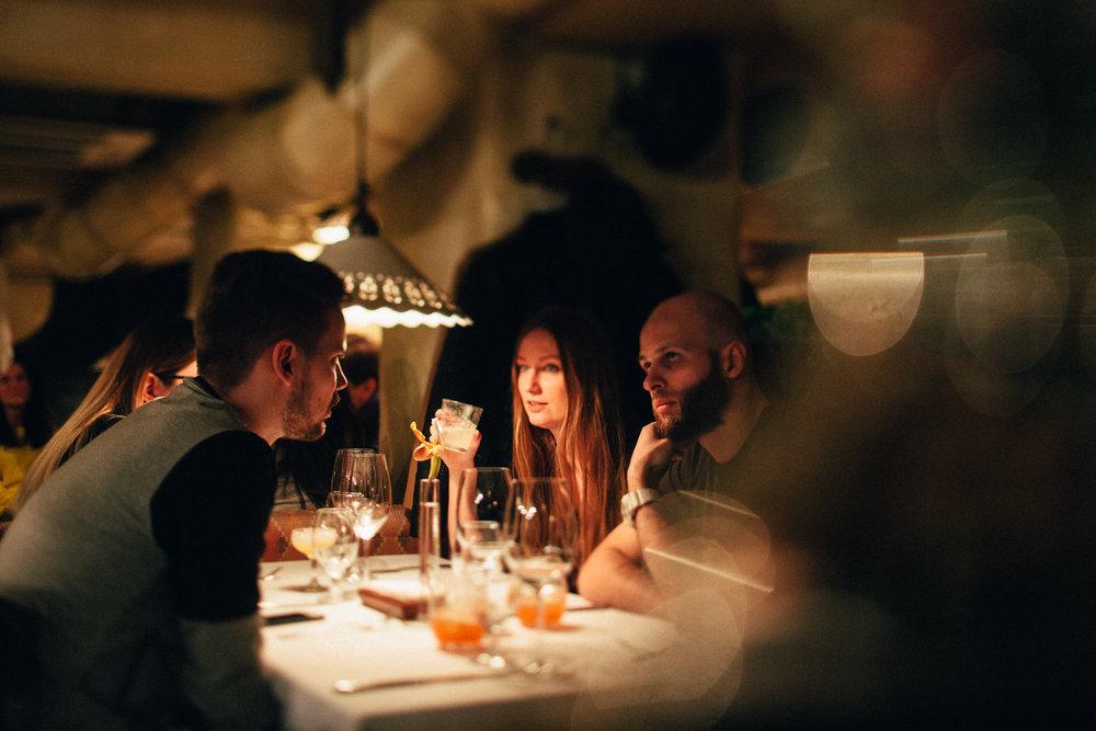 Ужин в кафе Мыши Бляхера в Днепре
