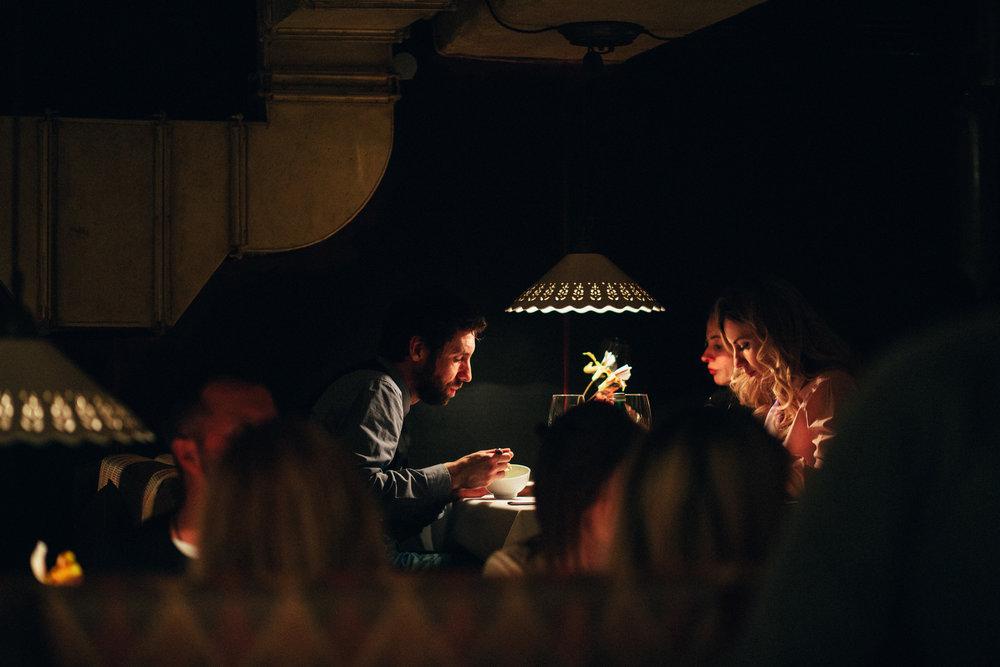 Праздничный ужин в ресторане Мыши Бляхера