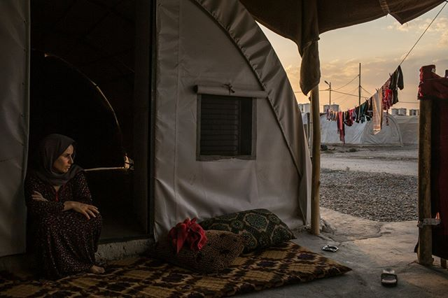 Need an in-depth briefing on the Yazidi Genocide and the human trafficking issues that followed? Click the link below.⠀ https://buff.ly/2Rn18h8⠀ Photo Credit: Mauricio Lima for The New York Times