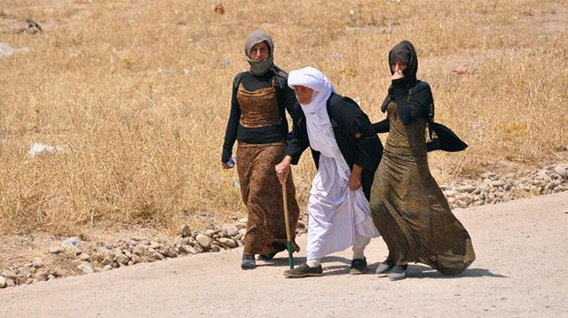 Want to learn more about the socio-political background of the Yazidi Genocide? Read the linked the article.⠀ https://buff.ly/2QnhdC2⠀ Photo Credit: Reuters / Stringer