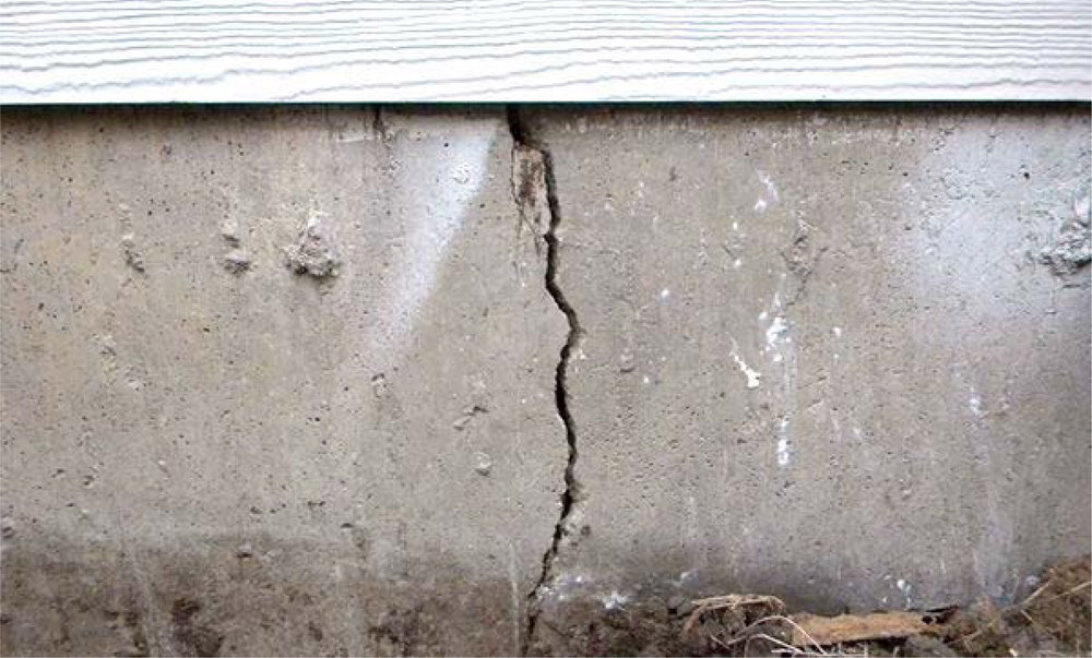 Reason 2:Cracked Foundations - If your gutter is clogged, the water overflows and pool along your home foundation. It will freeze and expand, causing severe cracks in your foundation walls.