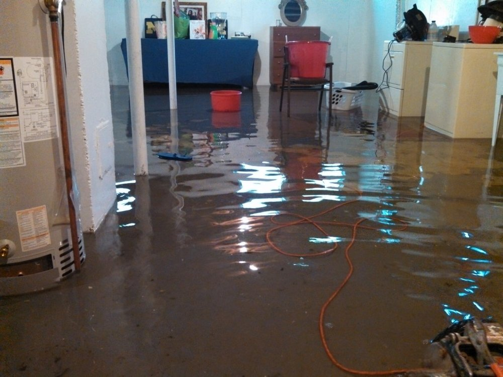 Reason 3 :Flooded Basements - The number one cause of water damage in basements is clogged gutters. When rainwater comes off your roof and has nowhere to go, it will find the path of least resistance. This is, usually, inside your soffits and siding all the way to the lowest point in the home, your basement.