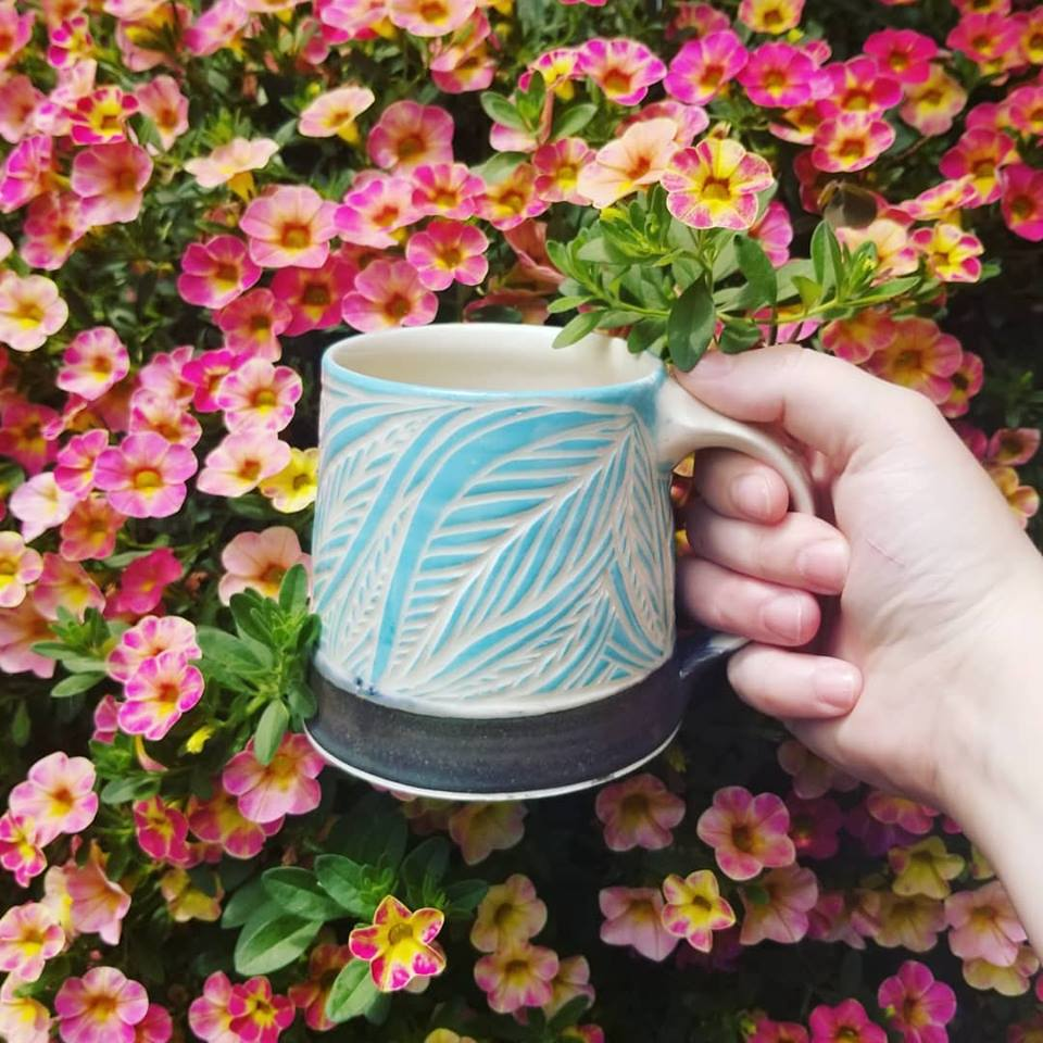 Blue Carved Mug.jpg