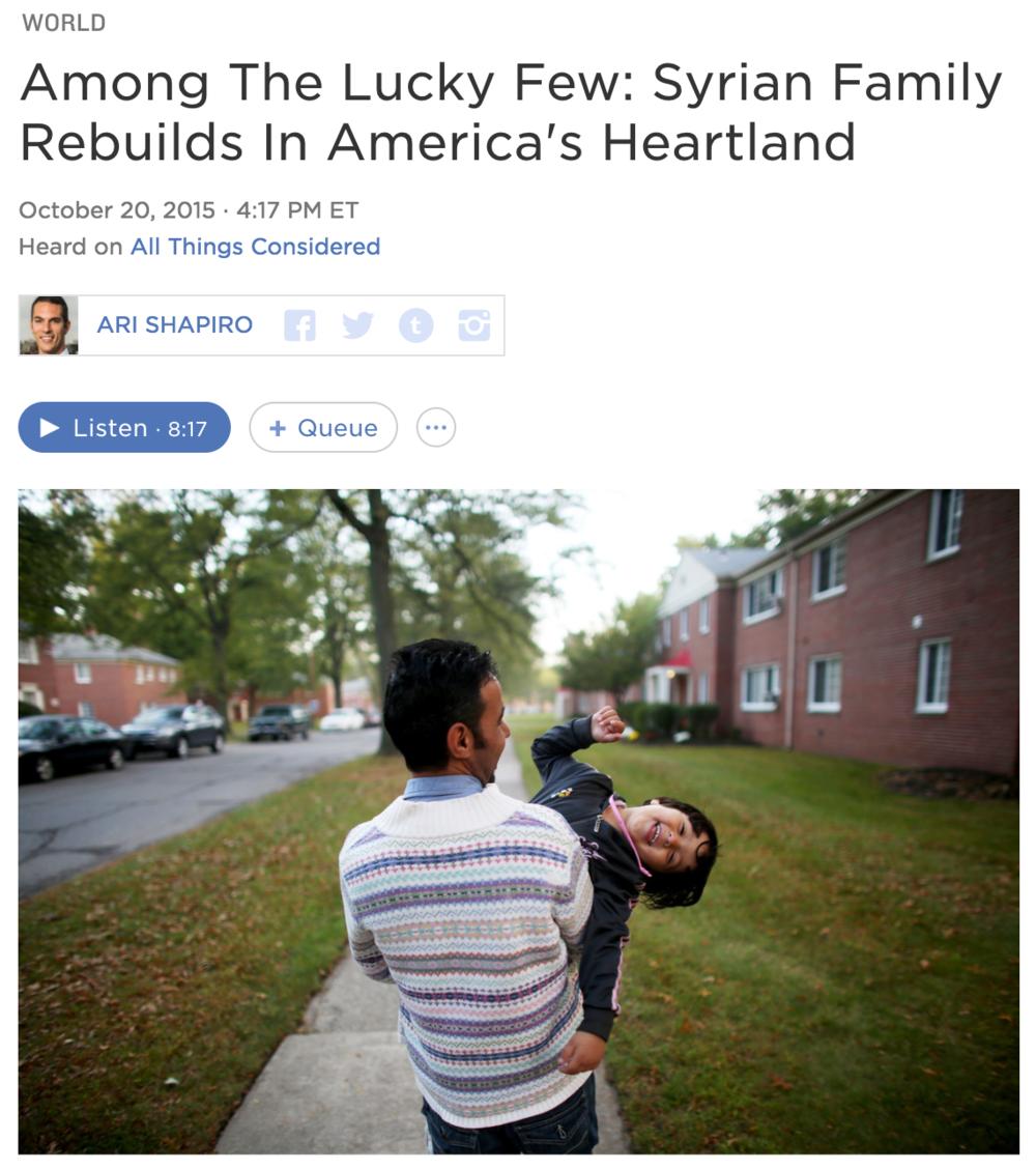 Full story    Photography: David Gilkey/NPR
