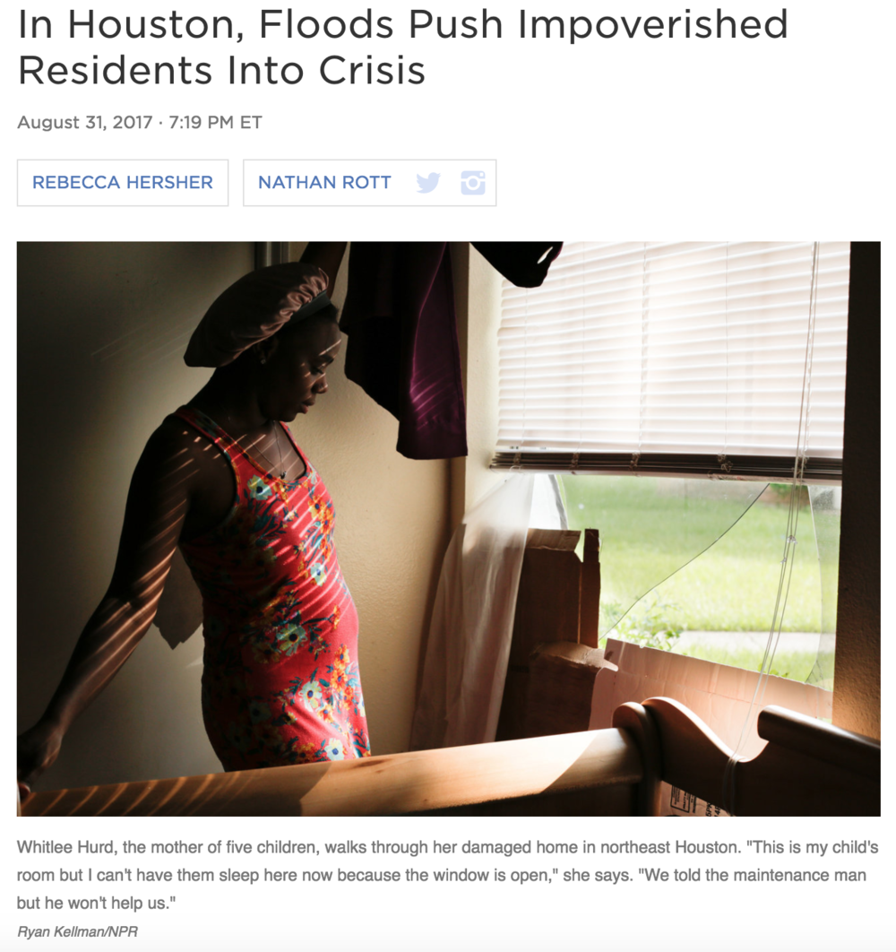 Full story    Photography: Ryan Kellman and Claire Harbage/NPR