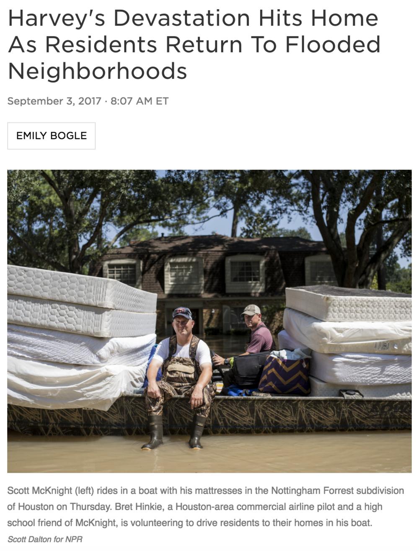 Full story    Photography: Scott Dalton for NPR