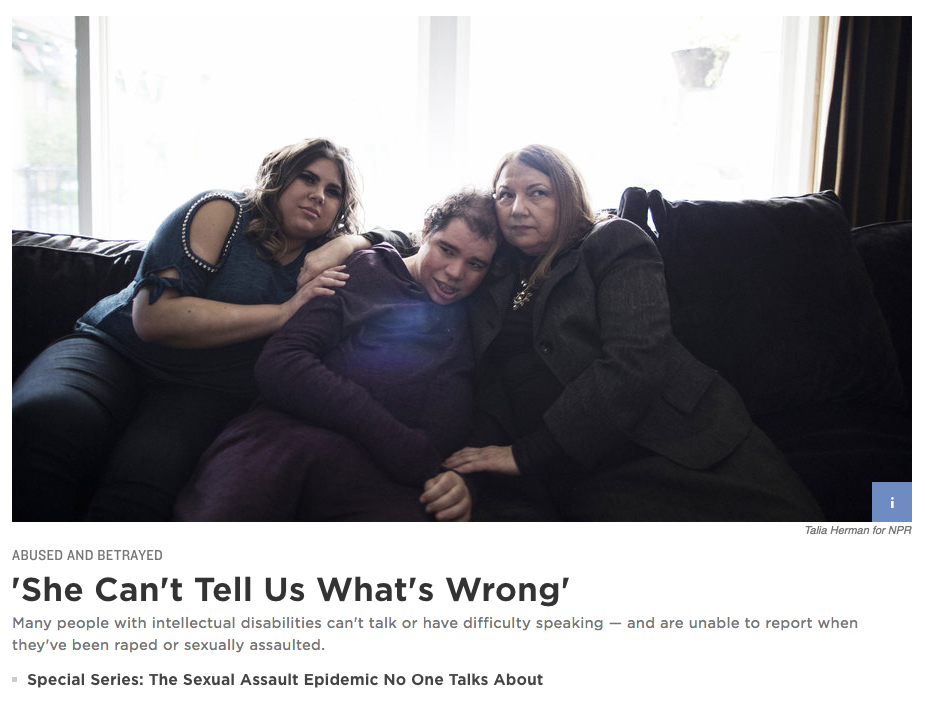 Full story    Photography: Talia Herman for NPR
