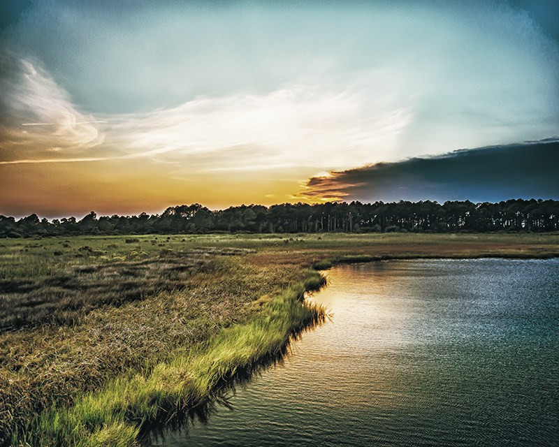 Stay Golden - Sunset on Bodie Island, NC