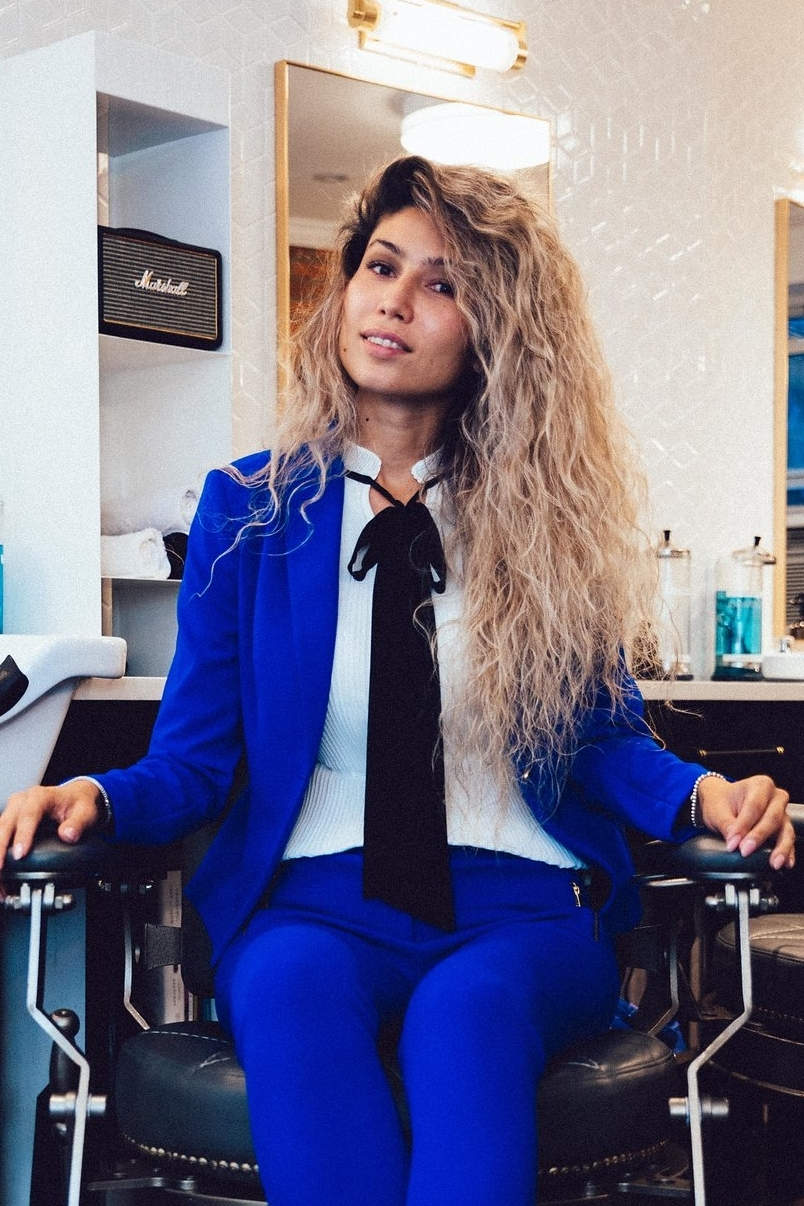 SARA NURMATOVA   Zara is a global stylist with work experience in several countries. Her passion is developing and cultivating new professionals in the grooming industry.  Instagram:  @sara_usa_sara