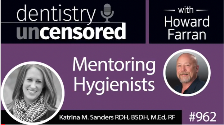 I had the pleasure of being interviewed by Howard Farran from Dentistry Uncensored Podcast regarding dental therapists, Sanders Board Prep, and hygiene burnout Listen to the Podcast HERE. Recorded: 02.11.2018. -