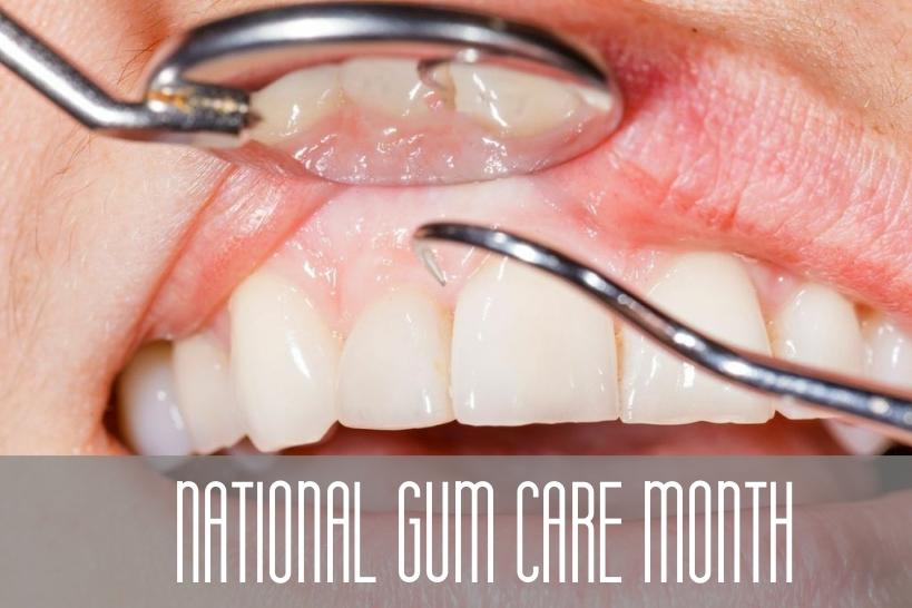 National Gum Care Month Montee & Montee Dental Co Green Hills Dentist