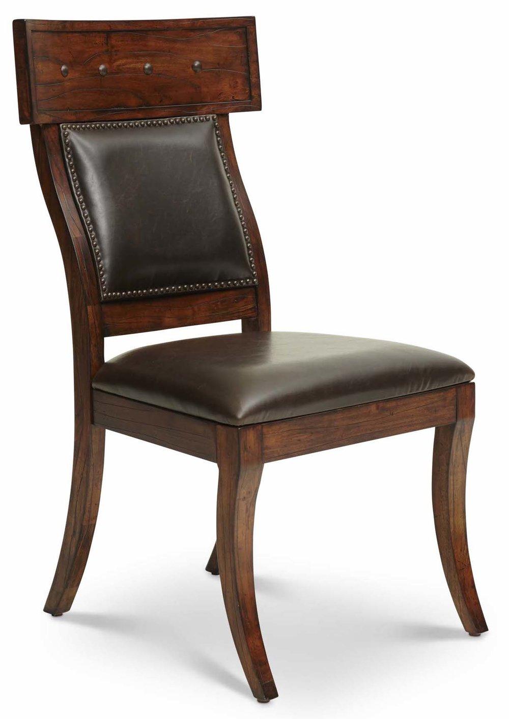 "Aspen Side Chair Upholstered Back  Item # DI-167205A (G / LB / DB) Dimensions: (2/carton)22 x 25 x 41.5""H"