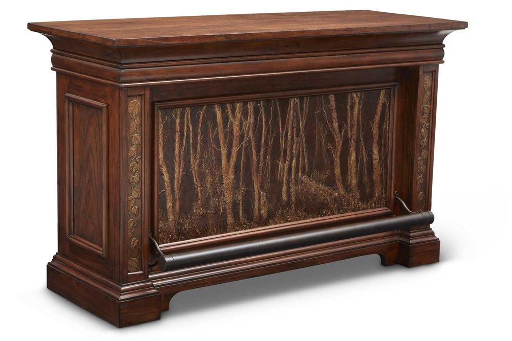 """Aspen Bar Table  Item # DI-167207 (G / LB / DB) Dimensions: 68 x 26 x 42""""H"""