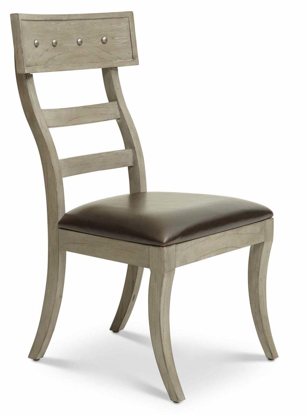 "Aspen Side Chair (2/carton)  Item: DI-167205 Dimensions:22 x 25 x 41.5""H"