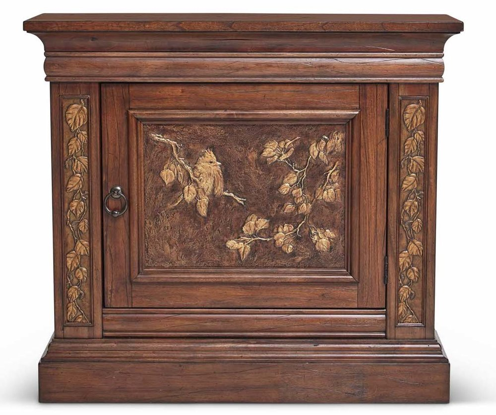 "Aspen Hall Chest  Item # DI-167404 (G / LB / DB) Dimensions: 40 x 14 x 36""H"