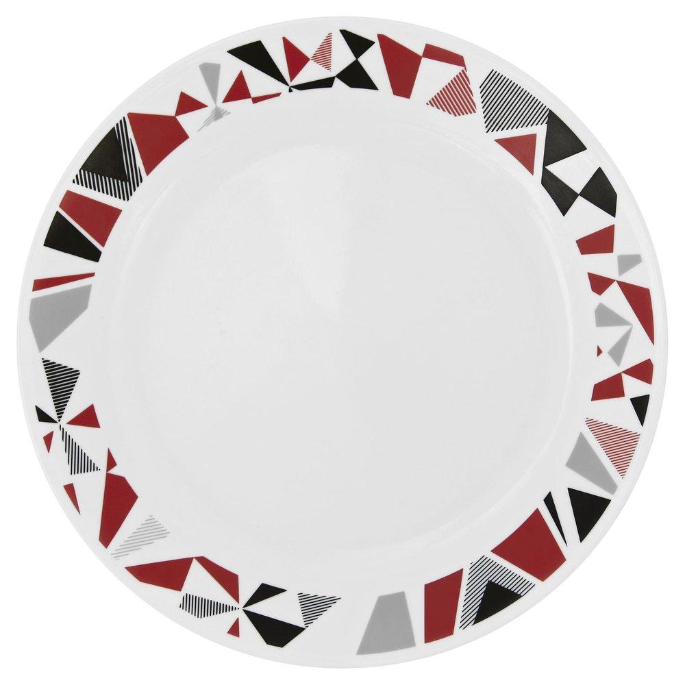 Style Mosaic Red u2022 Item # 1119376. 16 piece dinnerware set ...  sc 1 st  Designer Dinnerware & Livingware Mosaic Red 16-pc Dinnerware Set Review   Corelle Dinnerware