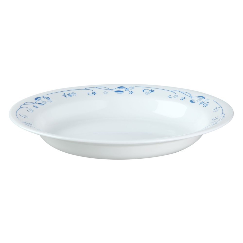 12 1/4u0027u0027 platter  sc 1 st  Designer Dinnerware & Livingware Provincial Blue 76-pc Dinnerware Set Review   Corelle ...