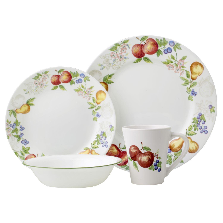 Impressions Chutney 16-pc Dinnerware Set  sc 1 st  Designer Dinnerware & Impressions Chutney 16-pc Dinnerware Set Review | Corelle Dinnerware
