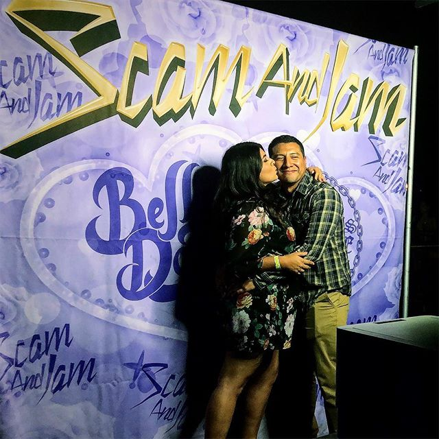 @scamandjam & @belladonala , thank you for choosing @bigbluephotobooth #priceless