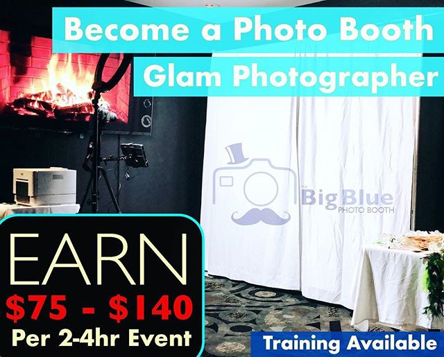 Click to Apply🤝  😳Make $75-$140 in 2-4hrs of work per event.  We are looking for 10 young fun people from ages 18-35 to work private events.   We are a 5-star company and service events across Los Angeles County. Our main days of operation are weekends.  To become a GLAM ✨photo booth photographer requirements:  ✅ Must be fun & outgoing ✅ Must be reliable ✅ Must have a reliable car/transportation ✅ Must be able to lift 25-35lbs ✅ Must have customer service skills ✅ Must be familiar with computers  🤩 Join our Team! 🤩 🛑 Training Available 🛑