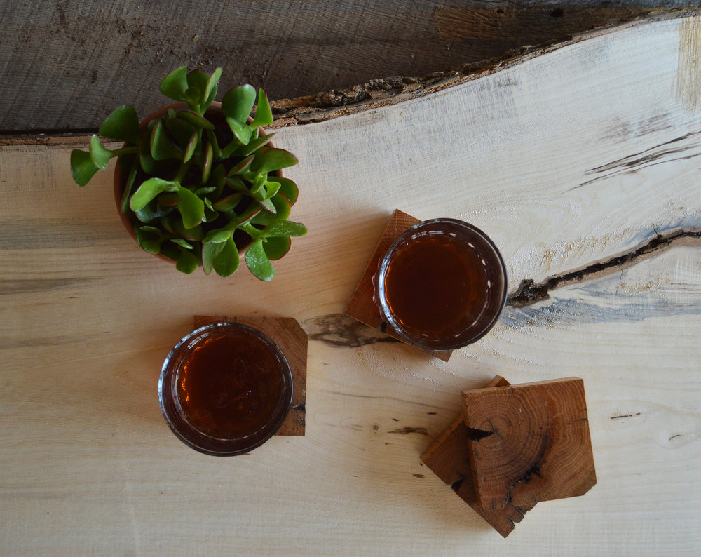 Coasters - Protect your wooden furniture with our reclaimed wood coasters.