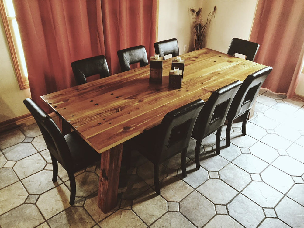 reclaimed wood table springfield, missouri