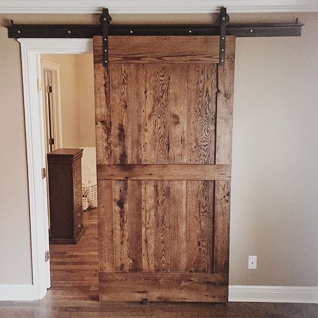 "As the saying goes, ""When one door closes....a sliding barn door opens."" . . . . . . #springfieldmo #springfieldmissouri #reclaimedwood #barndoor #slidingdoors #farmhouse #barnwoodfurniture #reclaimedbarnwood #farmhousestyle #farmhousedecor #farmhouseliving #handmadefurniture #moderncountry #salvagedwood #ecofriendly"