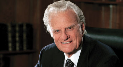 Reverend Dr. Billy Graham November 7 1918 - February 21, 2018