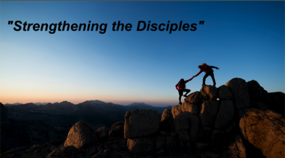 Strengthening the Disciples - Profession of Faith SundayPastor SidJune 17 2018