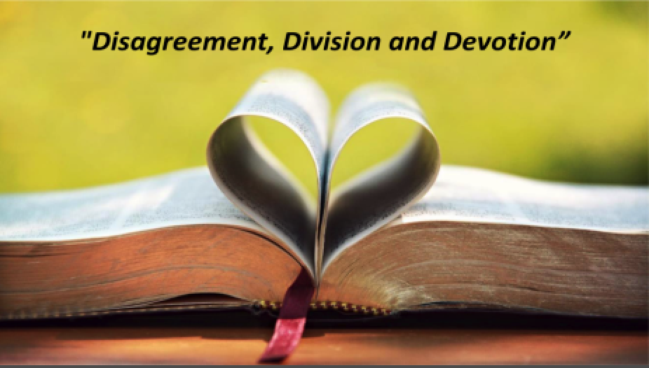 Disagreement, Division and Devotion - Part of the Acts Series Acts of Faith and ProclomationPastor Sid July 8 2018Acts 15:36-41