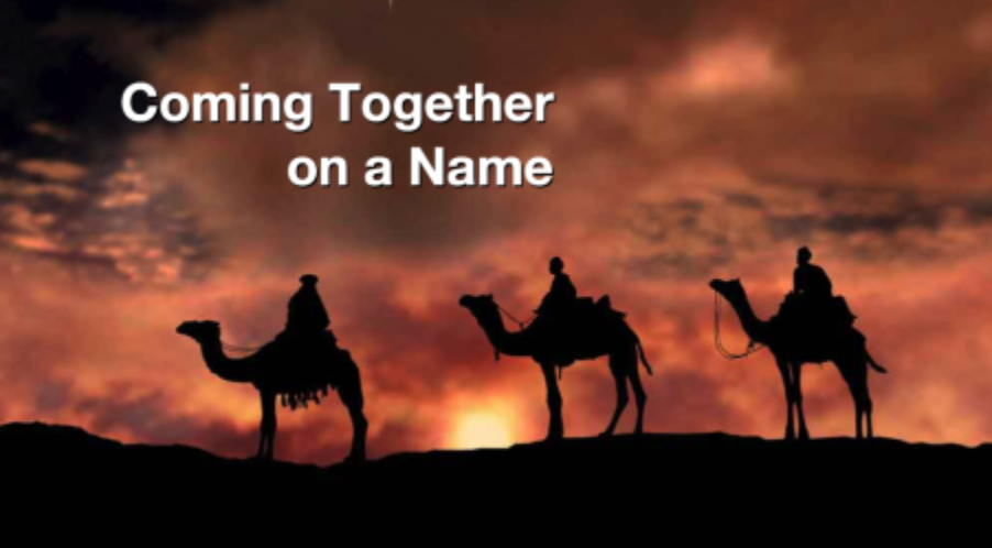 Coming Together on a Name - Pastor Sid Christmas MorningLuke 2:1-21