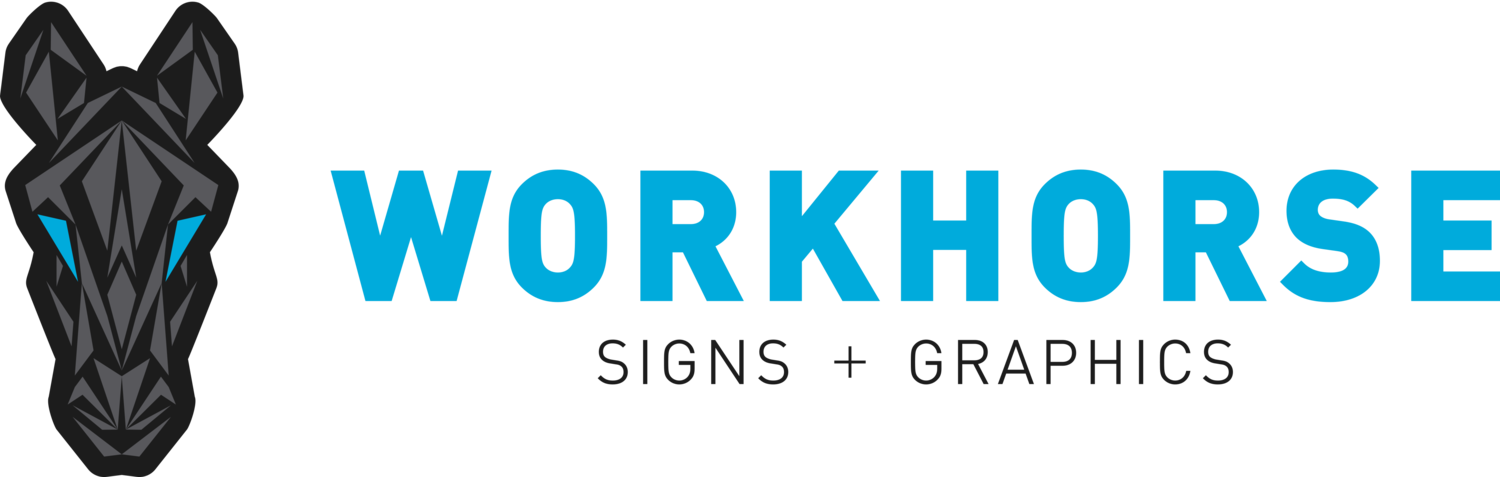 WORKHORSE Signs + Graphics