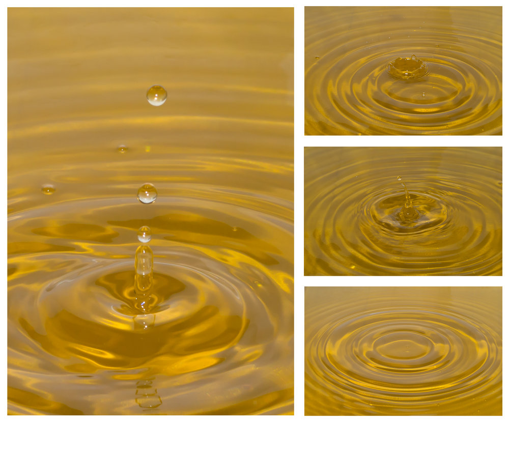 Here are some of the best captures from the third attempt at water drop photography.