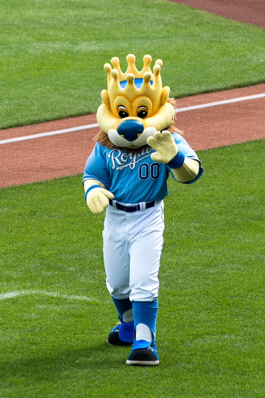 I love the antics that Slugger brings to the games. From the dancing, to the pranks, to the t-shirt and hot dog tosses... He makes the games fun. I also love the time he takes with the kids at the ballpark. Is there any surprise that he will be inducted into the Mascot Hall of Fame? Congratulations Slugger!