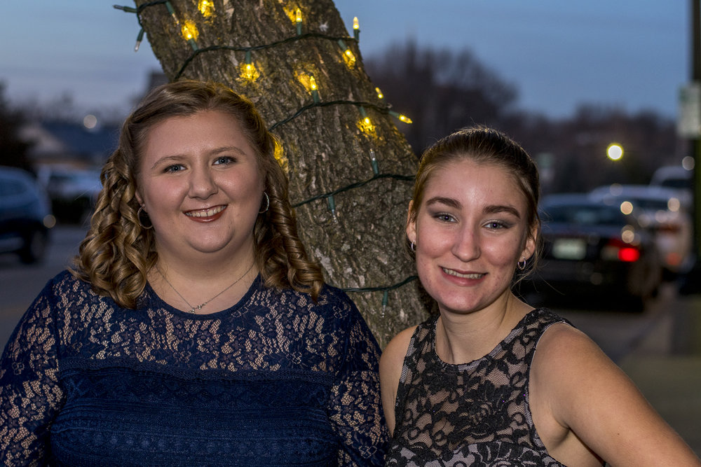 Talia went to the dance with her band buddy Addison. I'm so glad that she has such great friends. They met up with others at the dance, and they said they had a great time.