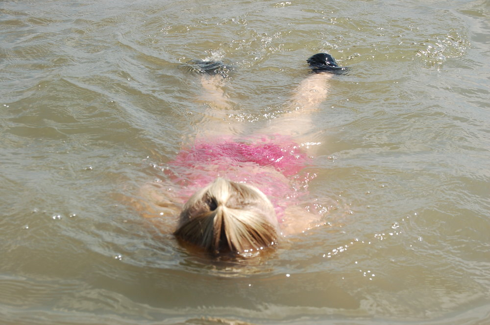 Swimming at Lewis and Clark Lake was always fun, even when the Mayflies where everywhere!